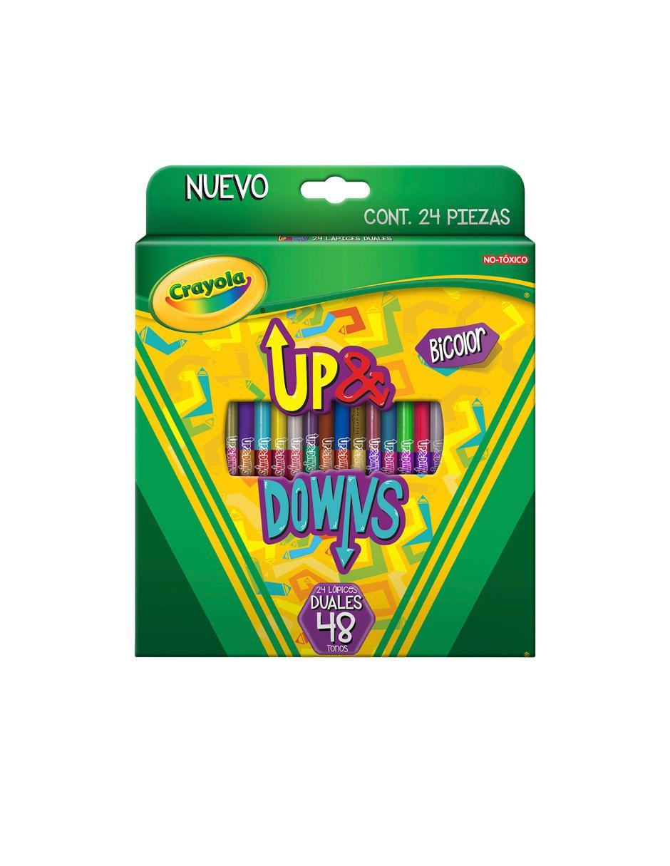 Lápices de colores Crayola Up Downs