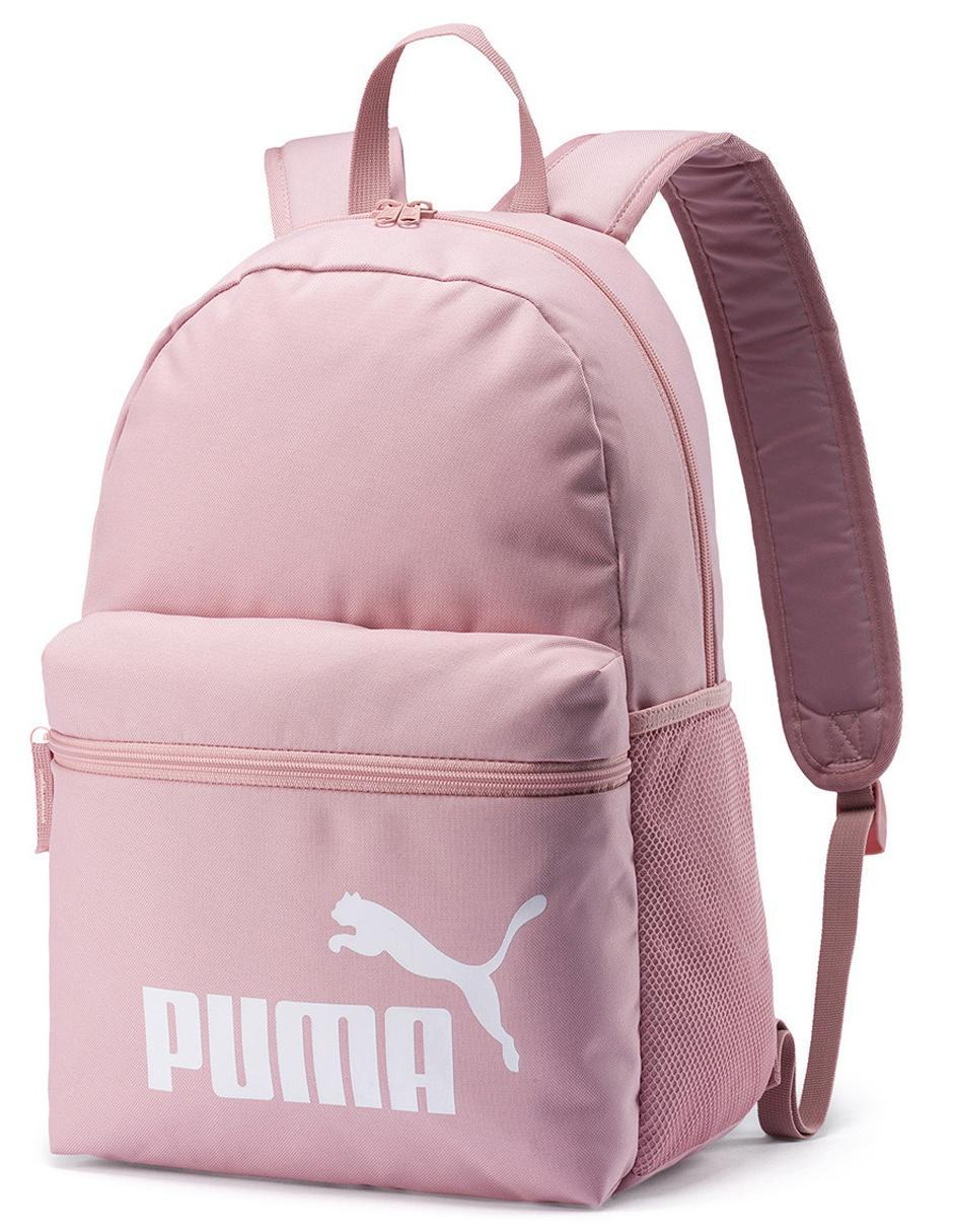 mochilas puma escolar en rosa
